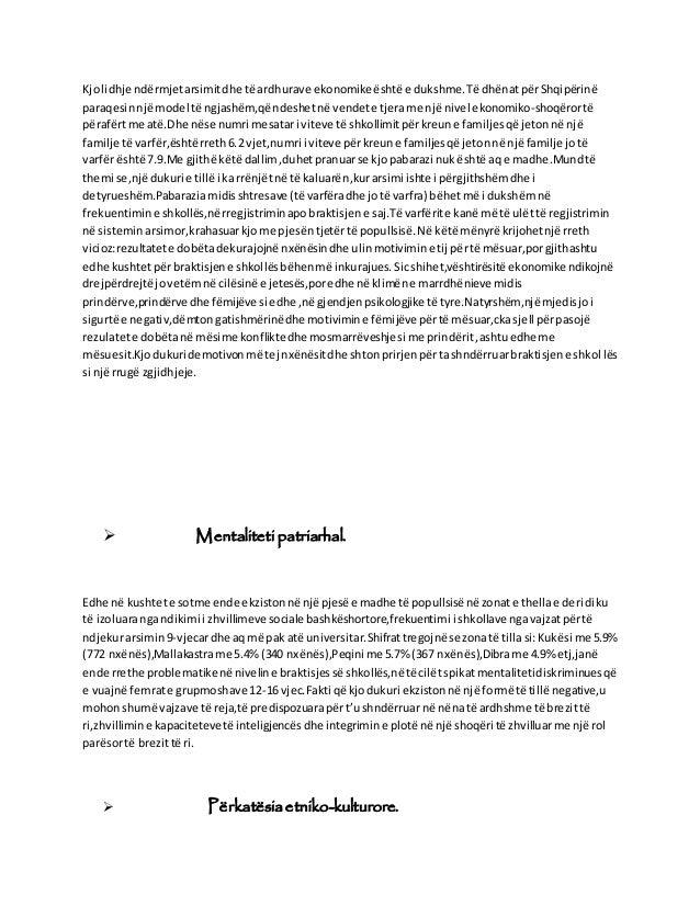 Kjolidhje ndërmjetarsimitdhe të ardhurave ekonomikeështë e dukshme.Të dhënatpërShqipërinë paraqesinnjë model të ngjashëm,q...