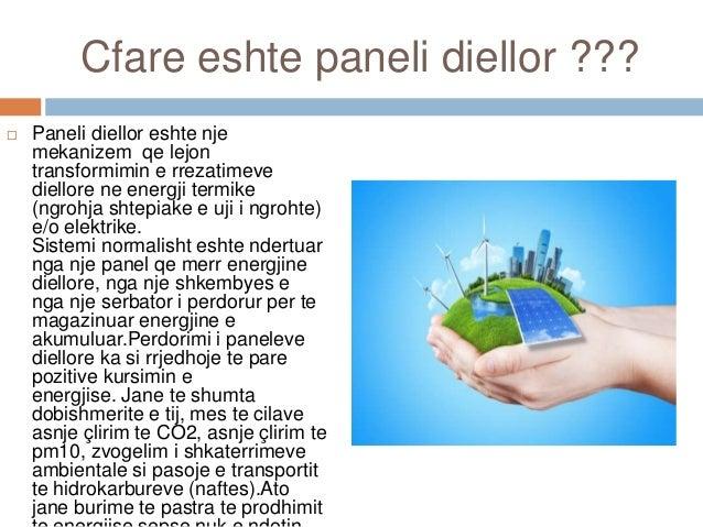 Panelet diellore Slide 2