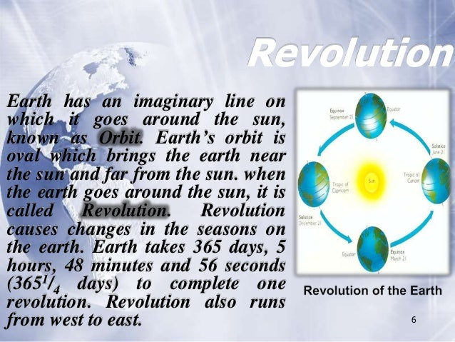 5 6 Revolution Earth