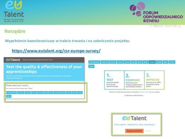 Text box - title SubheadingText box - titleCzy jest EU Talent? Narzędzie https://www.eutalent.org/csr-europe-survey/ Wypeł...