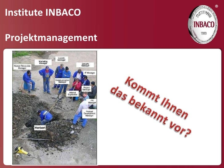 ®Institute INBACOProjektmanagement