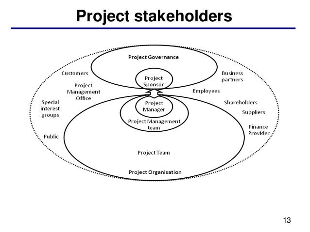 Project stakeholders                       13
