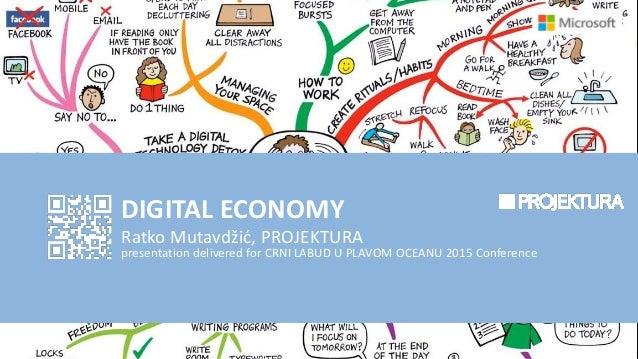 DIGITAL ECONOMY Ratko Mutavdžić, PROJEKTURA presentation delivered for CRNI LABUD U PLAVOM OCEANU 2015 Conference