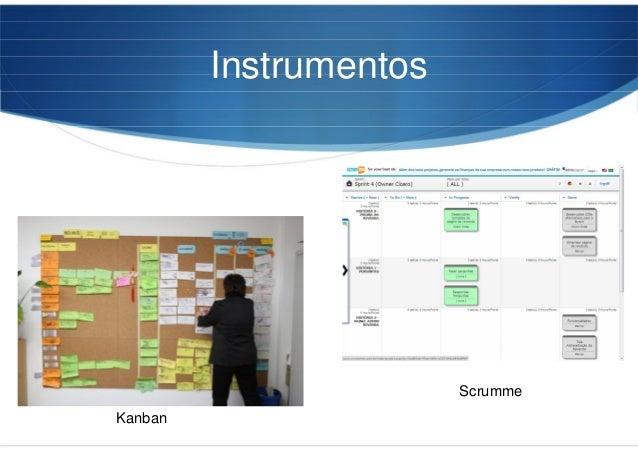 Instrumentos Kanban Scrumme