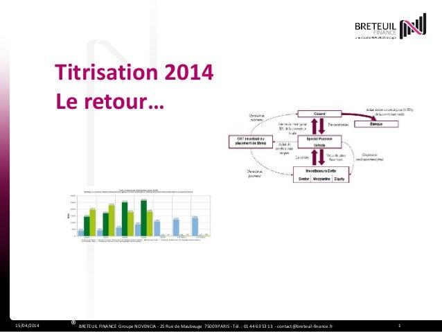 15/04/2014 1® BRETEUIL FINANCE Groupe NOVENCIA - 25 Rue de Maubeuge 75009 PARIS - Tél. : 01 44 63 53 13 - contact@breteuil...