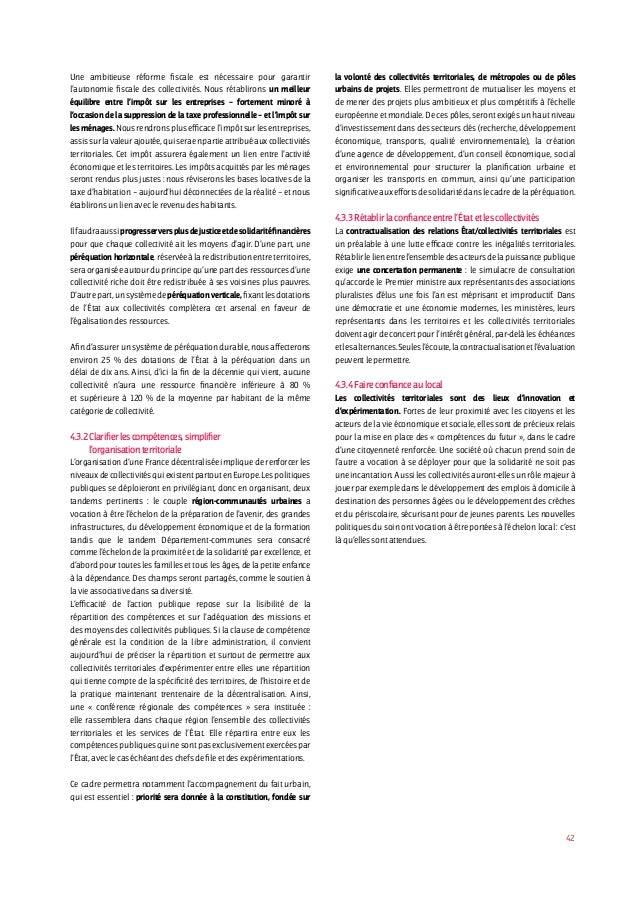 Projet Socialiste 2012 (l'intégrale)