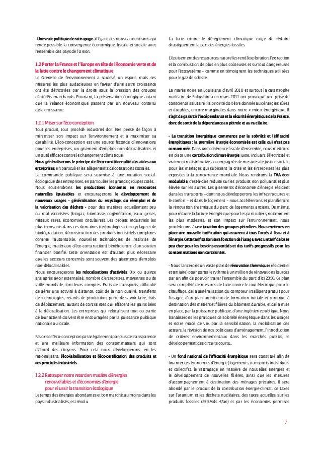7 -Unevraiepolitiquederattrapageàl'égarddesnouveauxentrantsqui rende possible la convergence économique, fiscale et social...