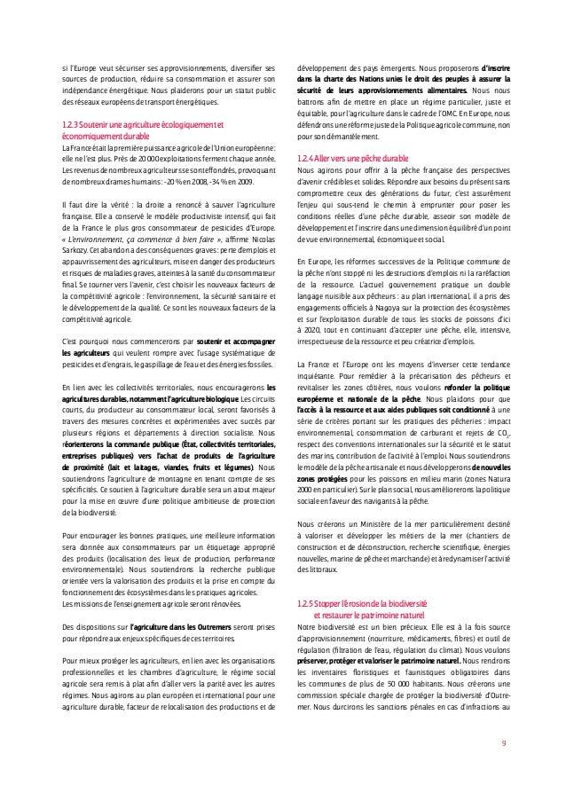 9 si l'Europe veut sécuriser ses approvisionnements, diversifier ses sources de production, réduire sa consommation et ass...