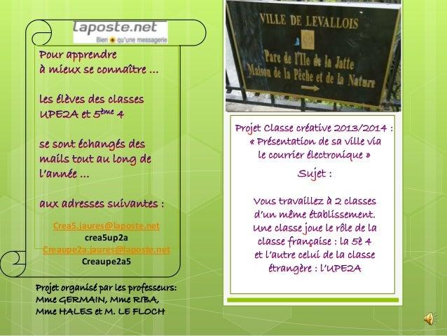 Projet 2014 UPE2A Jaurès