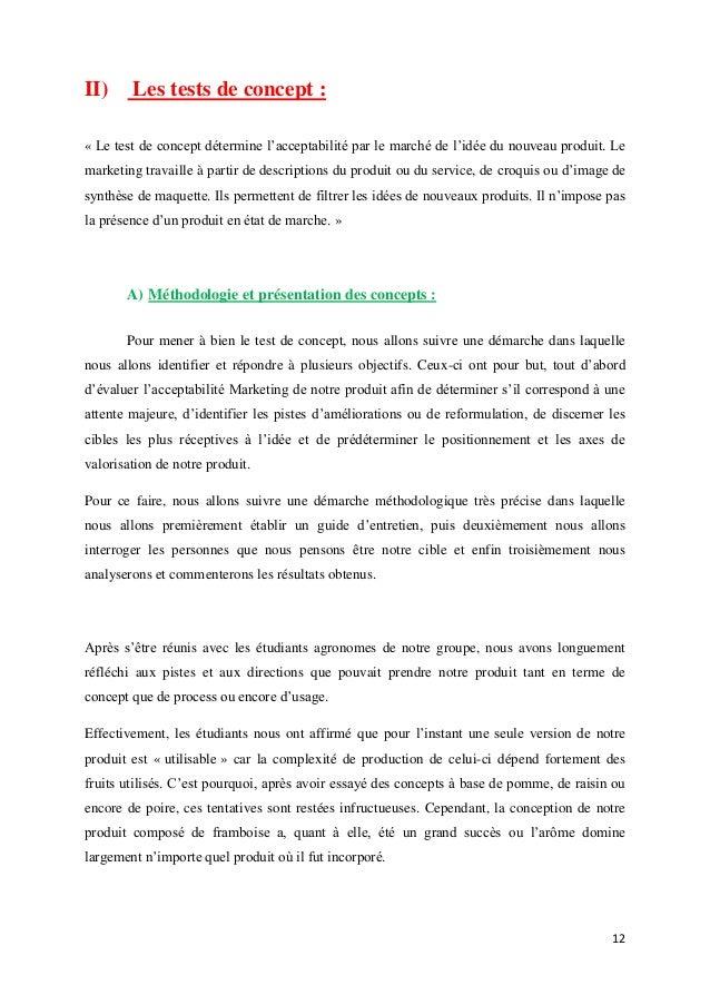 Projet alinova commercialisation d 39 un produit for Idee service innovant