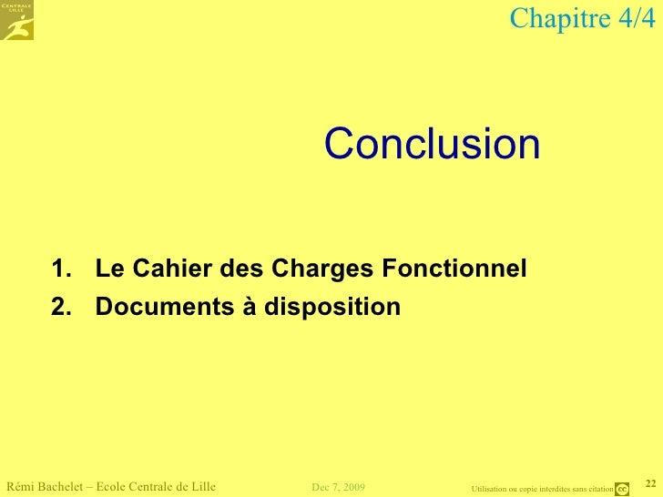 Cours d 39 analyse fonctionnelle - Cahier des charges definition ...