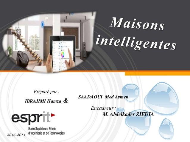Préparé par : IBRAHMI Hamza & 2013-2014 Encadreur : M. Abdelkader ZIEDIA SAADAOUI Med Aymen