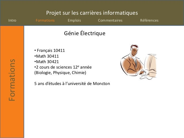 Projetcarrieres  Slide 2