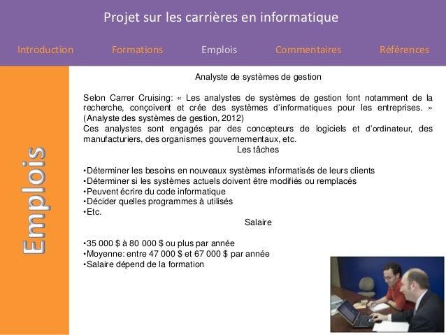 Projet carrières Slide 3