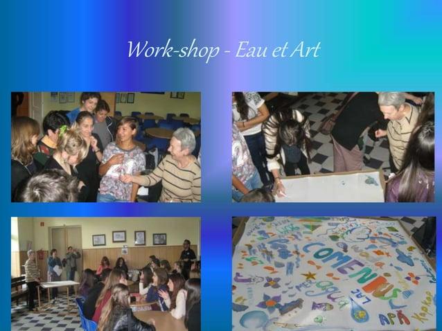 Work-shop - Eau et Art
