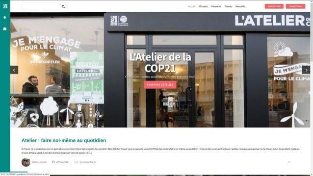 Projet COP21 Rouen Métropole