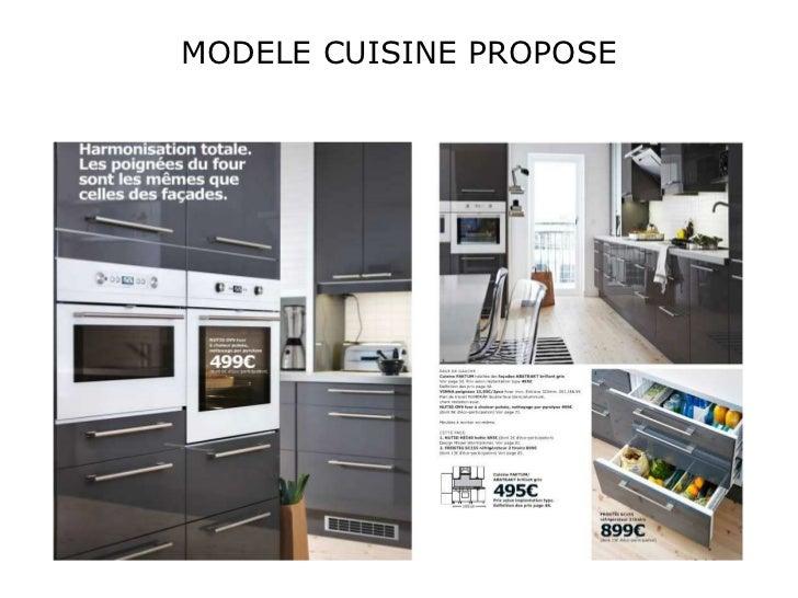projet d'aménagement cuisine / salle à manger
