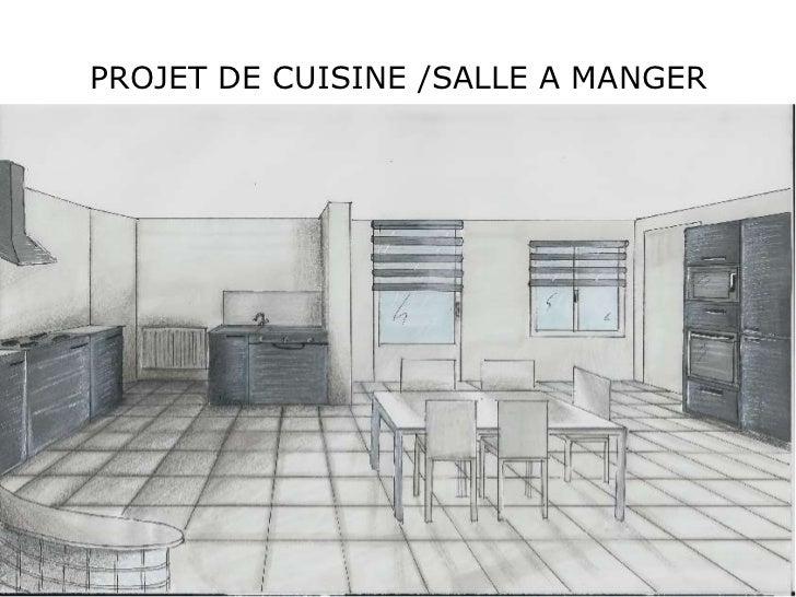 PROJET DE CUISINE /SALLE A MANGER