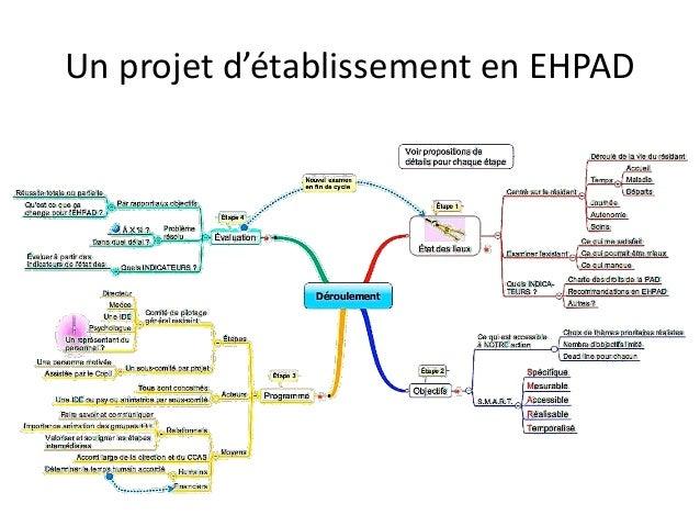 Un projet d'établissement en EHPAD