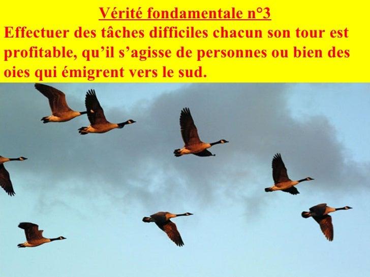 Vérité fondamentale n°3 Effectuer des tâches difficiles chacun son tour est profitable, qu'il s'agisse de personnes ou bie...