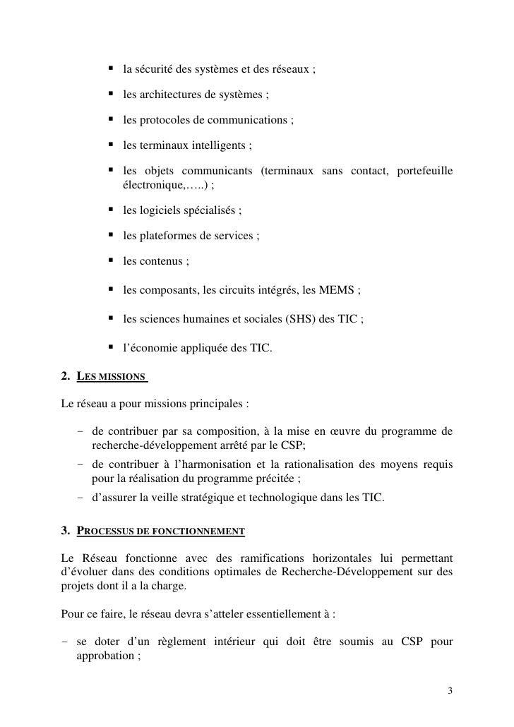 la sécurité des systèmes et des réseaux ;               les architectures de systèmes ;               les protocoles de co...
