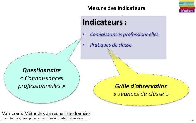 Projet evaluation impact - Grille des competences professionnelles ...