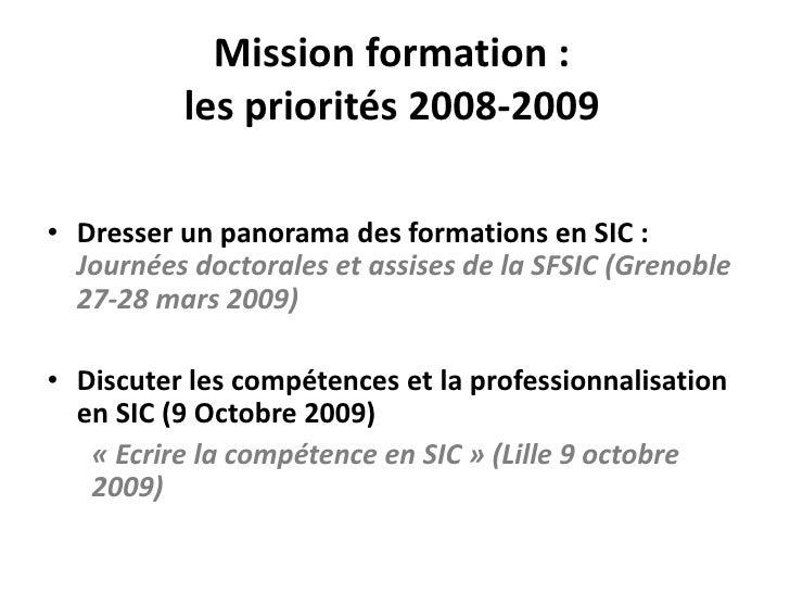 Projet Formations Sfsic Slide 3