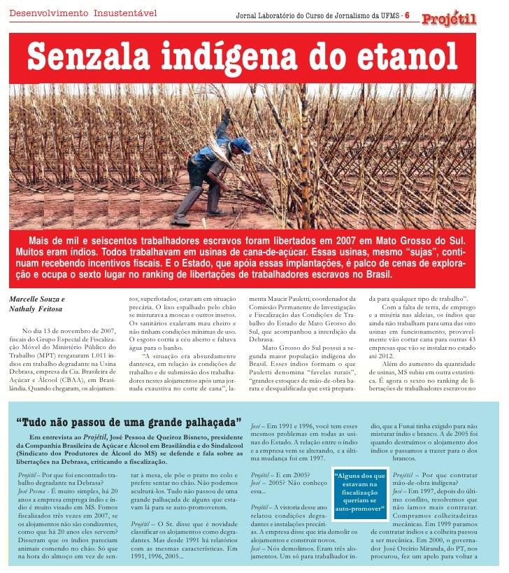 Desenvolvimento Insustentável                                                     Jornal Laboratório do Curso de Jornalism...