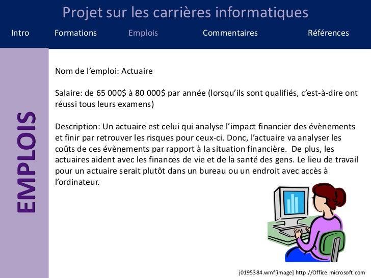 Projet is Slide 3