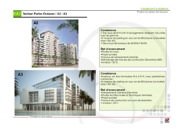 CASABLANCA MARINA                                                                            Projets en phase de travaux01...