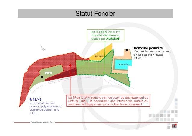 Statut Foncier                                          Les TF (10ha) de la 1ère                                          ...