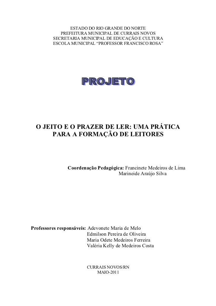 ESTADO DO RIO GRANDE DO NORTE             PREFEITURA MUNICIPAL DE CURRAIS NOVOS          SECRETARIA MUNICIPAL DE EDUCAÇÃO ...