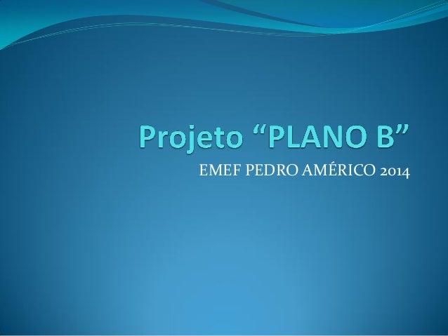 EMEF PEDRO AMÉRICO 2014
