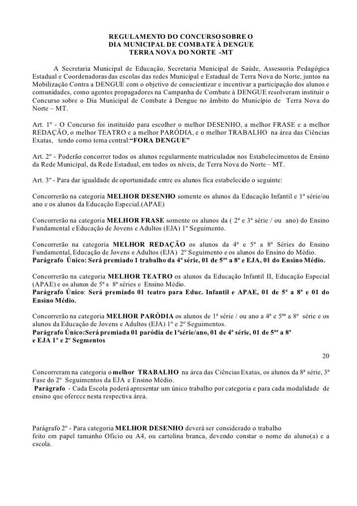 Muitas vezes Projeto Fora Dengue OO53