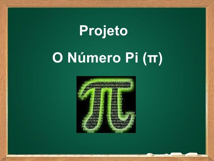 ProjetoO Número Pi (π)