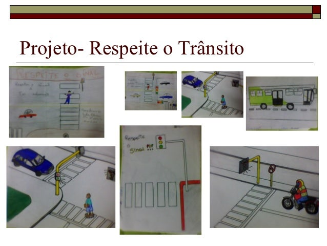Projeto- Respeite o Trânsito