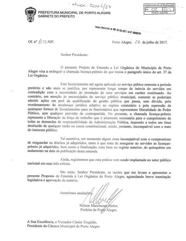 Projeto 2 extinção licença premio