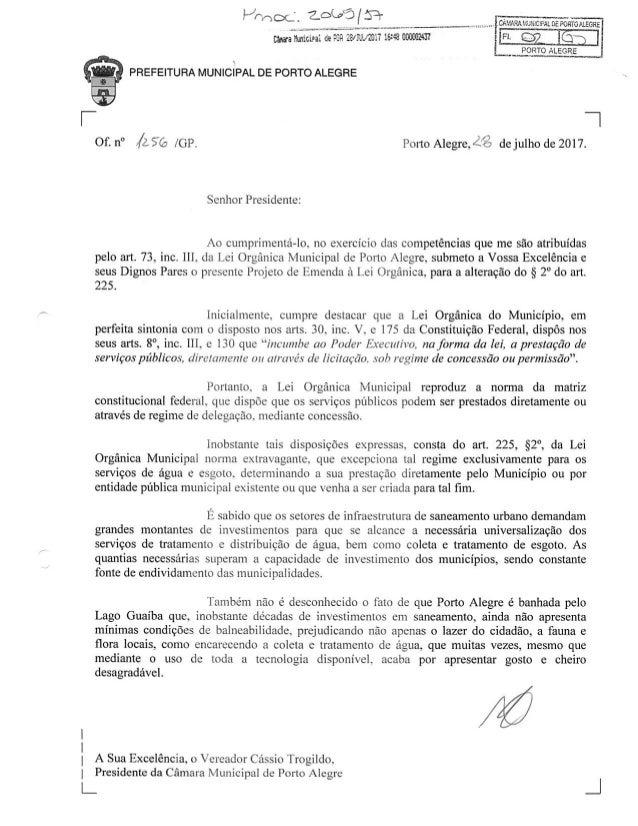Projeto 3 privatização dmae