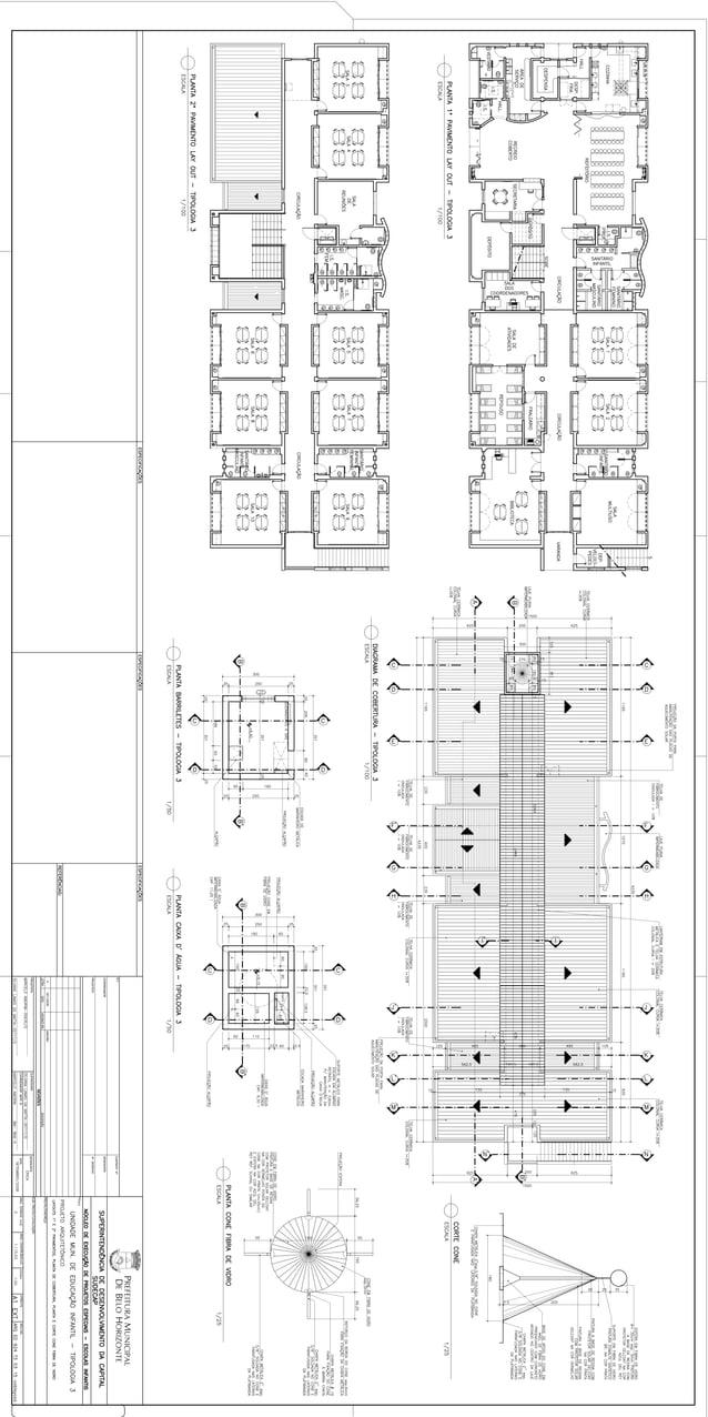 - Para os pisos das salas e áreas administrativas: Placa vinílica 30x30mm esp. 2mm em cores indicadas conforme projeto e r...