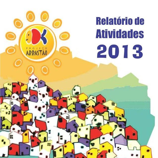 1 Relatório de Atividades 2013