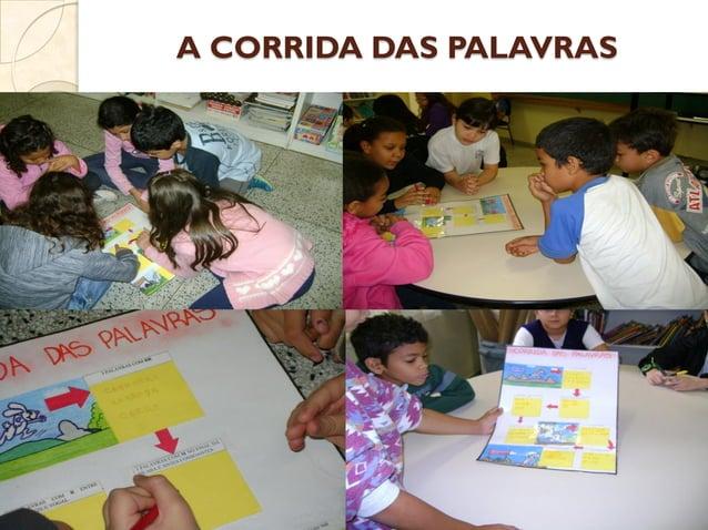 A CORRIDA DAS PALAVRAS