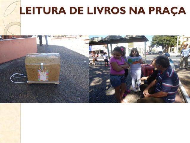 LEITURA DE LIVROS NA PRAÇA