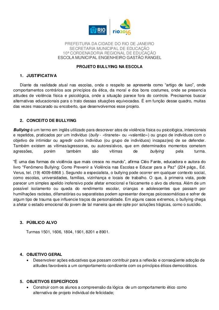 PREFEITURA DA CIDADE DO RIO DE JANEIRO                             SECRETARIA MUNICIPAL DE EDUCAÇÃO                       ...