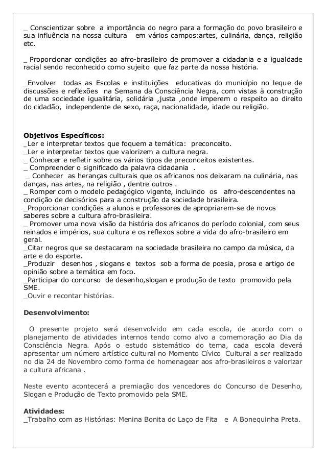 Populares Projeto consciência negra 2012 OP79