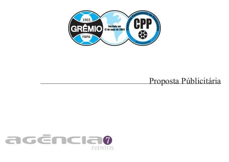 Fundado em    12 de maio de 2009                         Proposta Públicitária    7EVENTOS