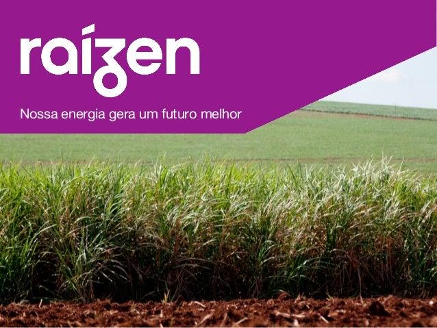 Nossa energia gera um futuro melhor