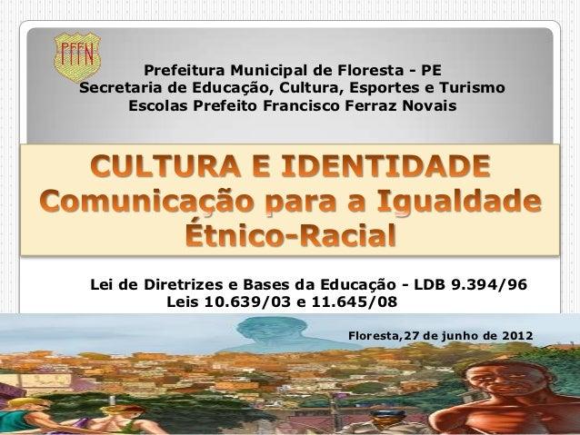 Prefeitura Municipal de Floresta - PESecretaria de Educação, Cultura, Esportes e Turismo      Escolas Prefeito Francisco F...