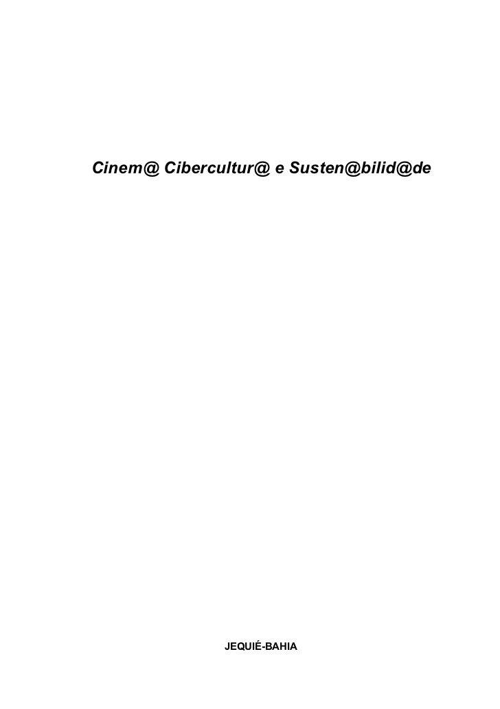 Cinema Educação Sustentabilidade