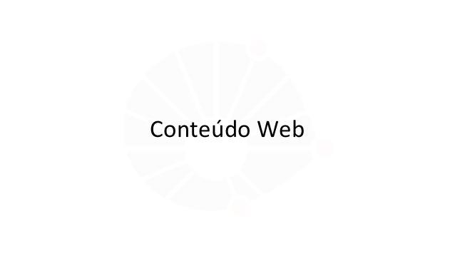 Conteúdo Web