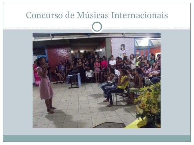 Concurso de Músicas Internacionais